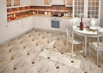что лучше постелить на пол на кухне