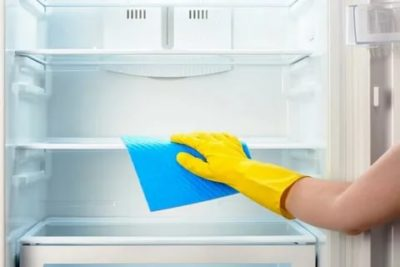 как помыть холодильник внутри