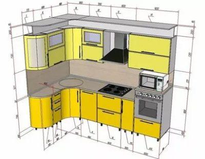 как спроектировать кухню самостоятельно