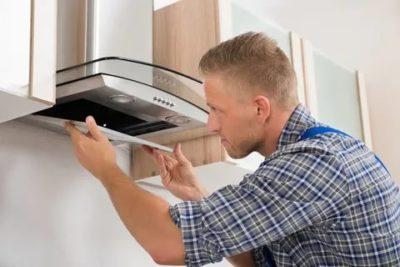 как снять вытяжку на кухне