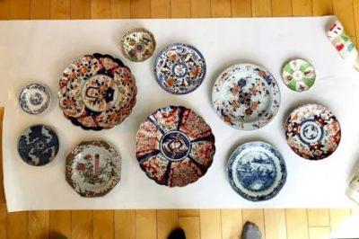 как повесить декоративные тарелки