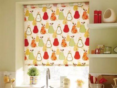 как выбрать рулонные шторы на кухню