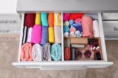 мари кондо как складывать вещи