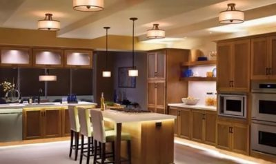 освещение на кухне как правильно организовать