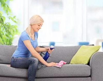 как помыть диван в домашних условиях