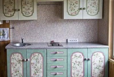 как обновить кухонный гарнитур своими руками