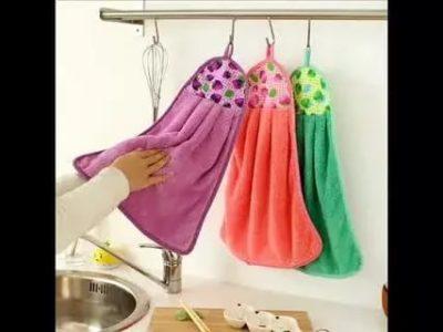 как сшить полотенце кухонное