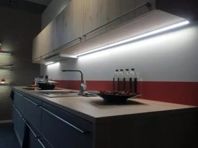 как сделать подсветку на кухне